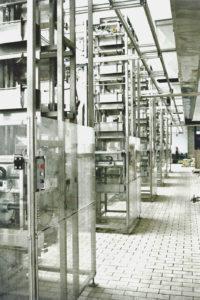 Anlage Verteilung an Füllmaschinen