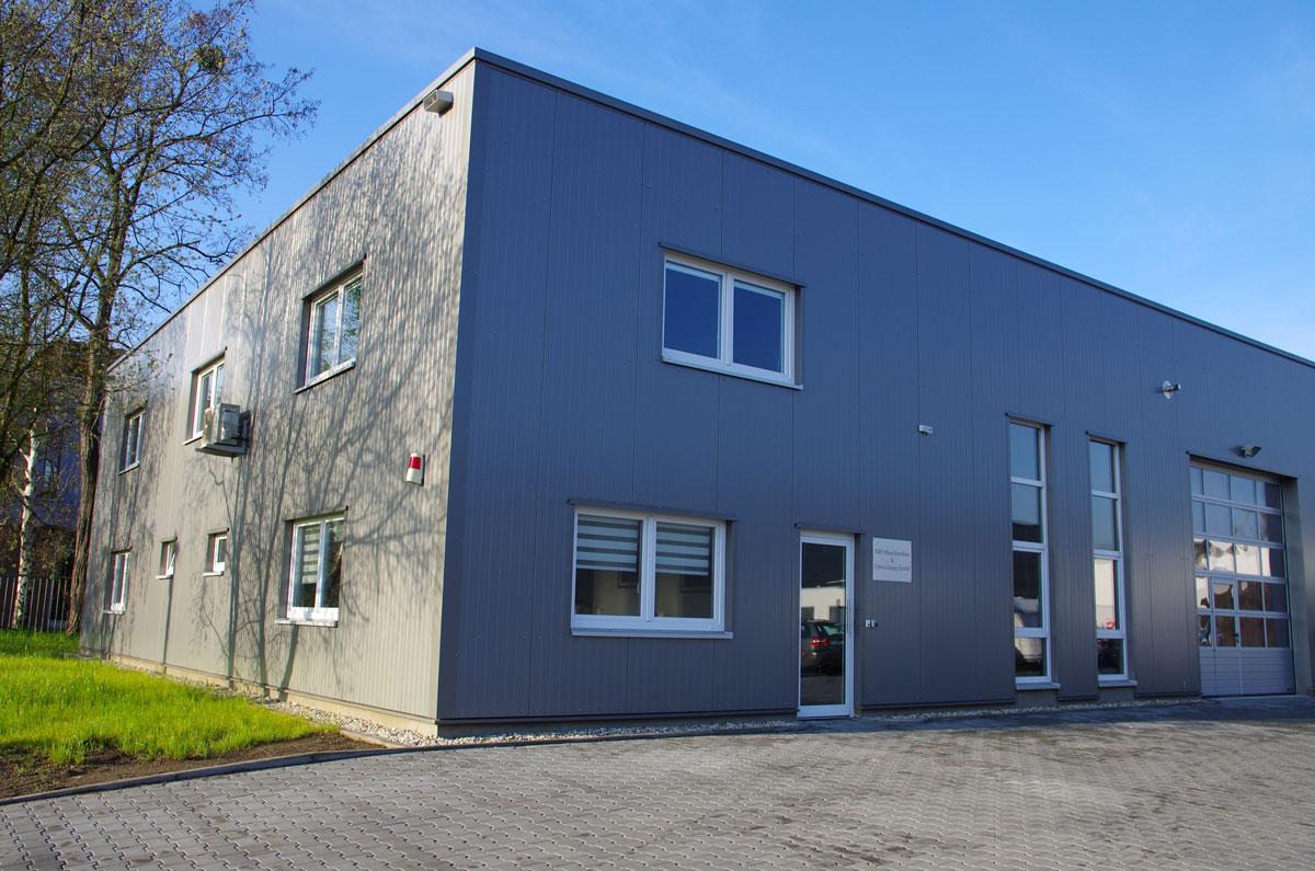 Gebäude der IMS Maschinenbau und Entwicklung GmbH