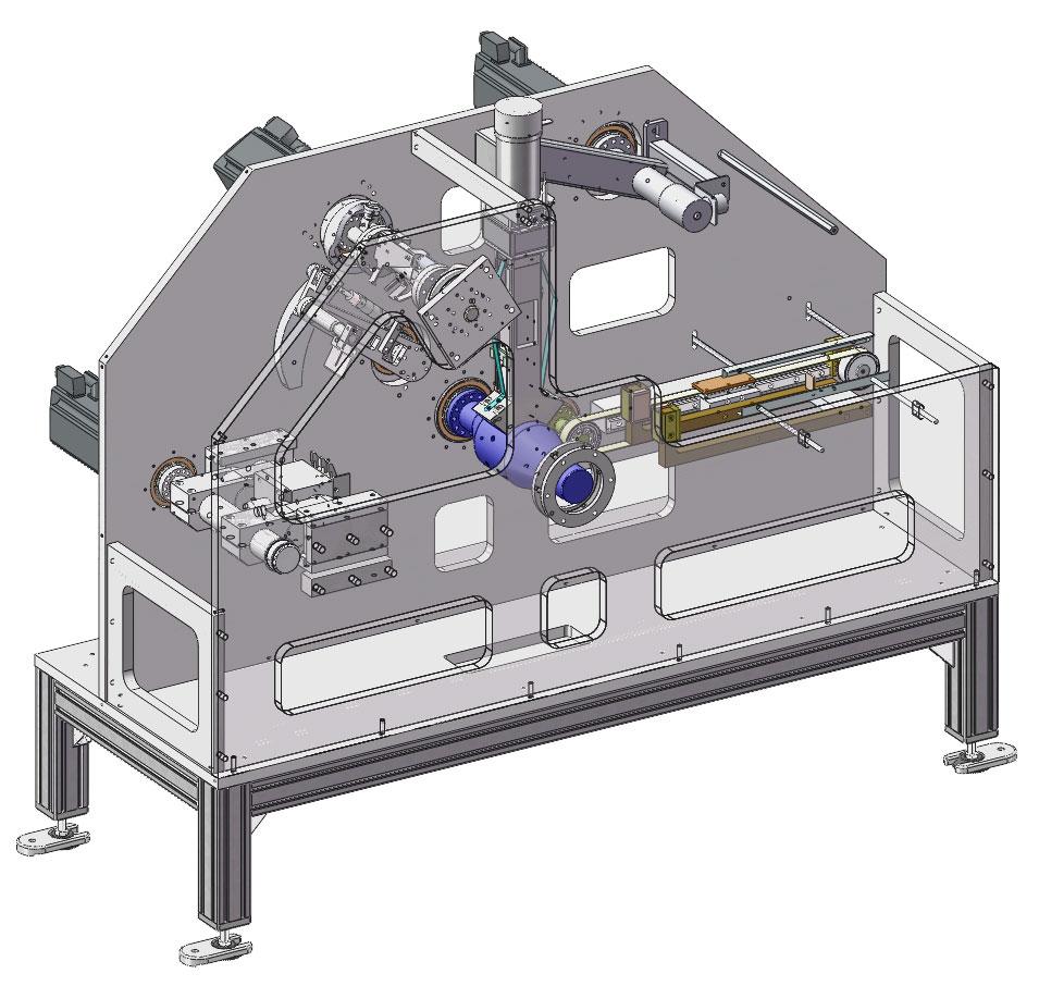 Bottom sealing machine